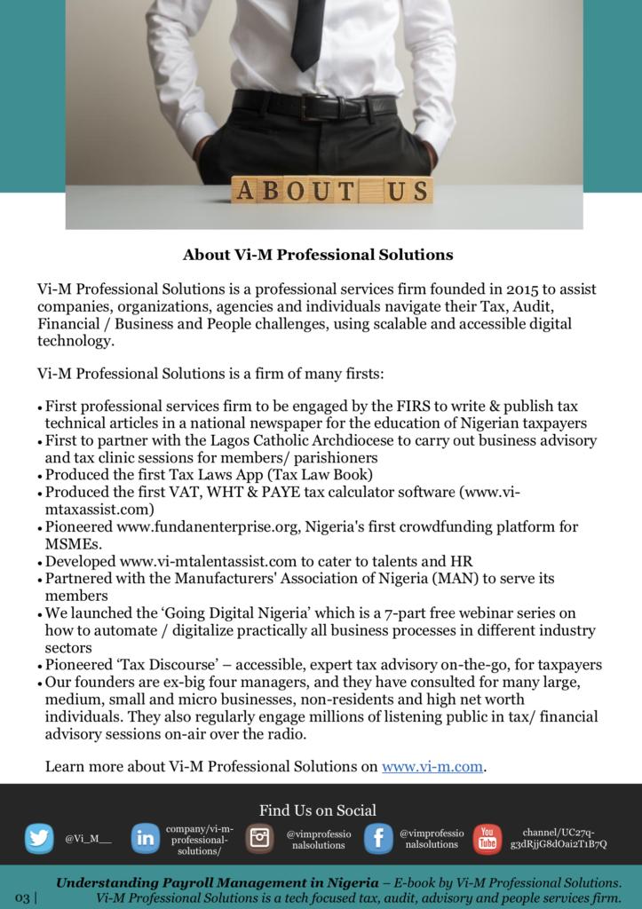 Understanding Payroll Management in Nigeria
