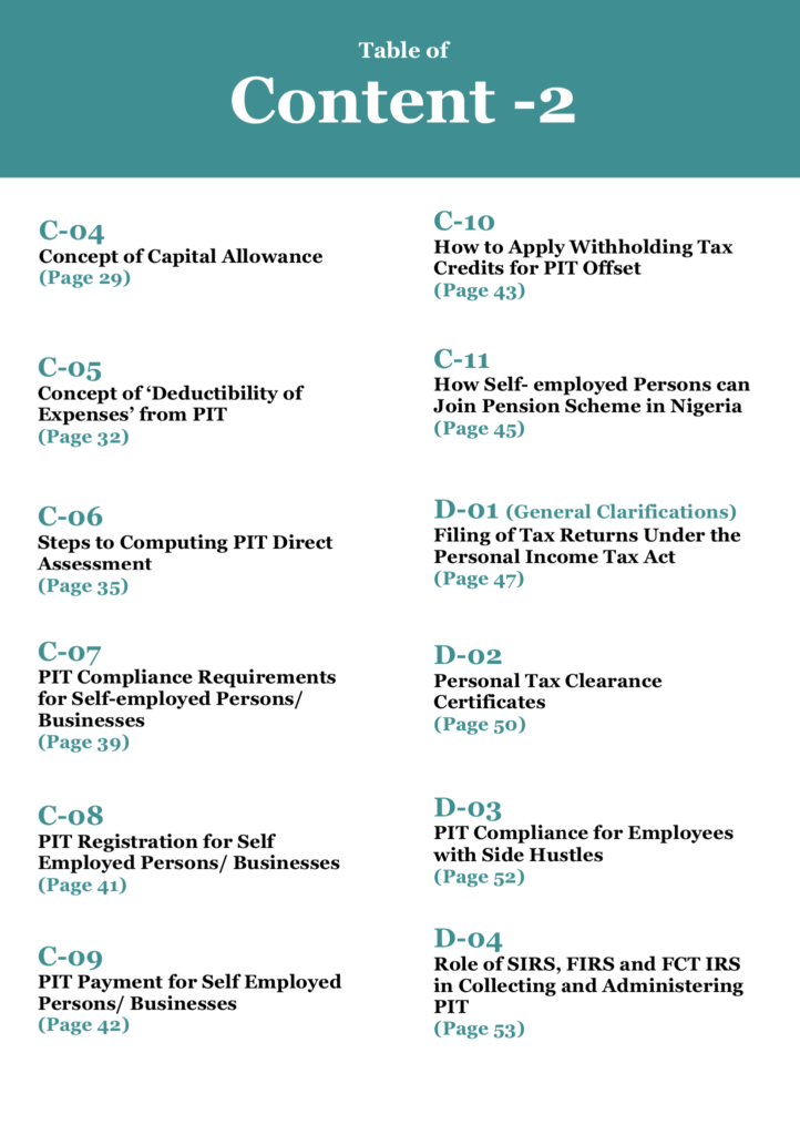 Understanding Personal Income Tax in Nigeria